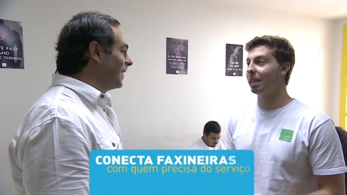 eQ! na PEGN: Plataforma oferece serviço de faxina para clientes corporativos